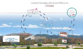 Gestión Estratégica del Sector Público en Colombia