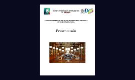 Presentada al secretario SECRETARÍA DE EDUCACIÓN PUBLICA DEL ESTADO DE DURANGO