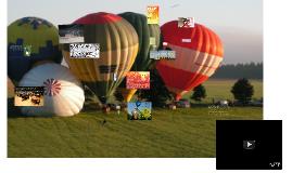 Kā notiek gaisa balonu sacencības