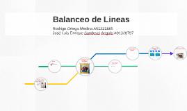 Balanceo de Lineas