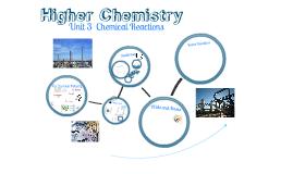 Unit 3 - Chemical Reactions