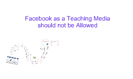 facebook as a teaching media