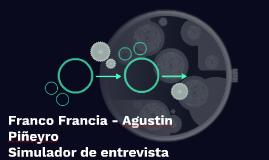 Franco Francia - Agustin Piñeyro