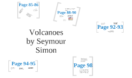 Guiding Comprehension for Volcanoes