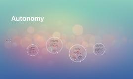 Copy of Autonomy