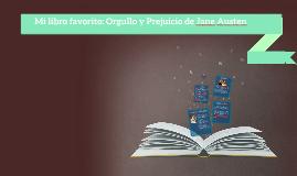 Mi libro favorito: Orgullo y Prejuicio de Jane Austen