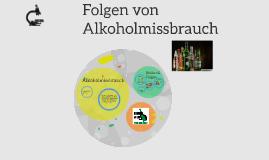 Folgen von Alkoholmissbrauch