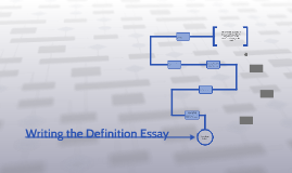 Writing the Definition Essay