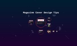Magazine Cover Design Tips