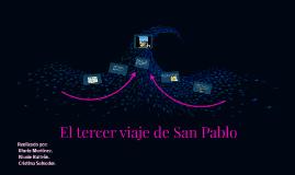 Tercer viaje de San Pablo.
