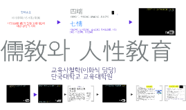 Copy of 한국의 유교 사상