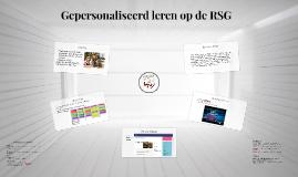 Gepersonaliseerd leren op de RSG