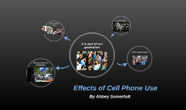 Affects of Cell Phone Use