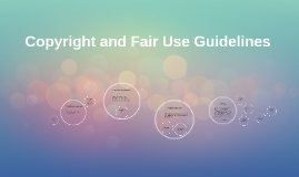 Copyright and Fair Use Guidelines