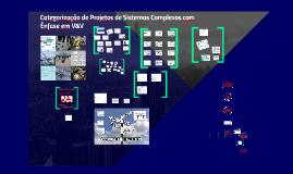 Categorização de Projetos e V&V