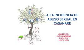 Alta Incidencia de Abuso Sexual en Casanare