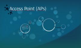 Access Point (AP's)