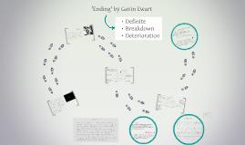 Ending by Gavin Ewart