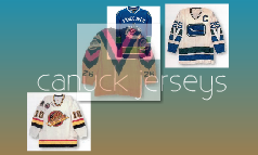 canuck jerseys