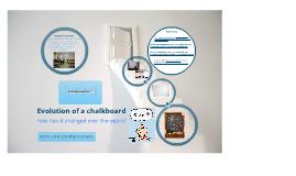 Evolution of a chalkboard