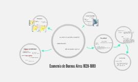 Economía 1820 - 1880