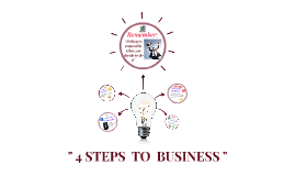 """ 5 STEPS  TO  BUSINESS """