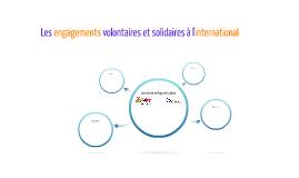 Les engagemenents volontaires et solidaire à l'international
