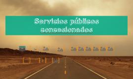 Servicios públicos concesionados