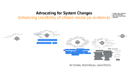 Advocating for System Changes
