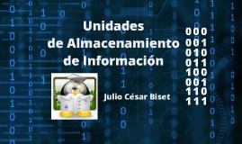 Unidades de Almacenamiento de Información