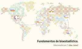 Fundamentos de bioestadística.