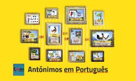 Antónimos em Português