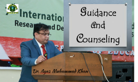 Dr. Ayaz Muhammad Khan ( Guidance and Counseling)