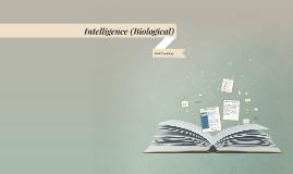 L1: Intelligence (Biological)