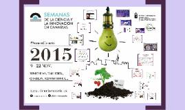Copy of Semanas de la Ciencia y la Innovación en Canarias 2015
