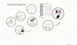 Ideas De Empresa