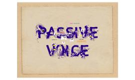 Copy of Passive Voice