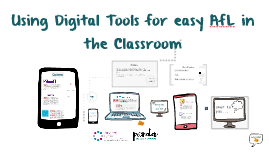 Digital Tools for AfL