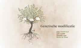 Copy of Genetische modificatie