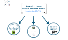 Football in Europe - Political and Social Aspects
