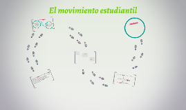 El movimiento estudiantil