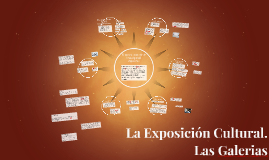 Copy of La Exposición Cultural.