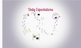 RA Duty Expectations