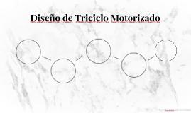 Diseño de Triciclo Motorizado