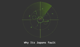 Why Its Japans fault