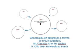 Generación de empresas a través de una incubadora