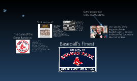 Baseball's Prime, the 20's