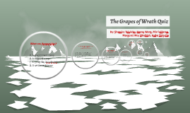The Grapes of Wrath Quiz