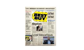 Copy of Best Buy: HR scandal in the News