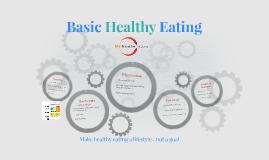 Basic Healthy Eating
